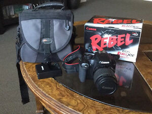 Reduced Canon Rebel xs