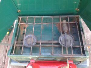 Coleman 2 burner naptha campstove Kitchener / Waterloo Kitchener Area image 2