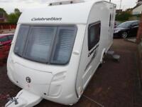 2012 2 berth Swift Celebration 480 caravan for sale
