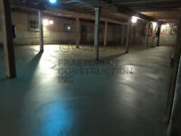 Specialized in the placement and finishing of concrete slabs