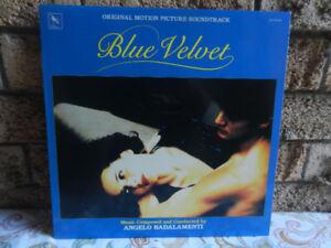 Vinyl Record/LP Blue Velvet Original Soundtrack HTF