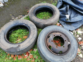 Free tyres. Upcycling project.