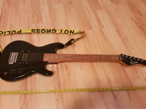 Black (small) Electric Guitar