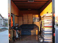 MOVERS AVAIL TODAY/TOMORROW CALL FOR ESTIMATE AT 416-854-6683