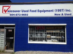 VANCOUVER NEW&USED RESTAURANT , FOOD EQUIPMENT WAREHOUSE
