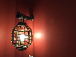 Another funky rustic table or hanging lamp