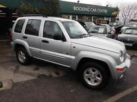 Jeep Cherokee 2.5 CRD Limited 4X4 DIESEL 2003 FULL LEATHER FULL MOT