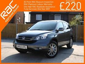2012 Honda CR-V 2.0 i-VTEC ES-T 6 Speed 4x4 4WD Sat Nav Bluetooth Full Leather/S