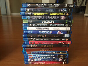 Blu-Ray Collection (Comic Book movies)