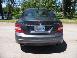 2011 Mercedes-Benz C250 V6 Sport Package AWD $78 Weekly Peterborough Peterborough Area image 5