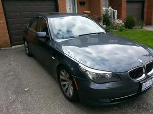 2008 BMW 535i, 2yr WARRANTY, NAVI Sunroof Leather Premium pkg