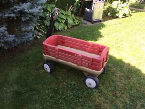 """Childs Wagon in good condition Sides come off"