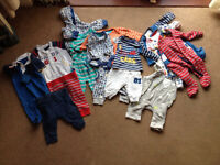 Huge mothercare bundle age upto 3 months most never worn!