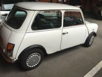 Classic mini 1987 advantage 53k nice order