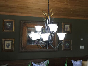 Beautiful 9 light Chandelier from executive home