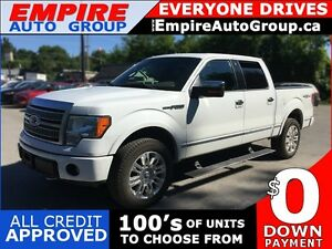 2009 FORD F-150 PLATINUM * LEATHER * SUNROOF * NAV * REAR CAM *