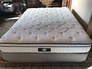 sealy queen bed