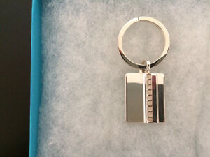 Authentic BIRKS Sterling Silver 925 Keyring with Box