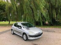 2004 Peugeot 206 1.4 8v Fever 5 Door Hatchback Silver (64,000 Miles)