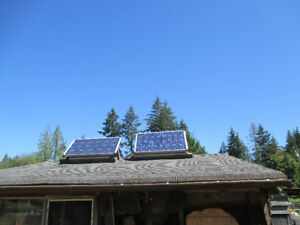 Solar system off grid 200 Watts
