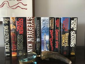 Stephen King Hardcover Books (10)