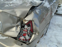 damaged car with no insurance coverage?