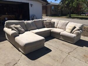 Big Comfy Sectional With Chaise