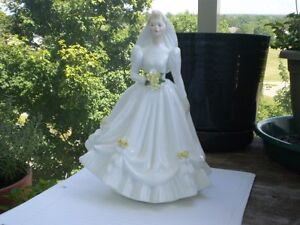 "Royal Doulton Figurine "" The Bride "" HN 3284"
