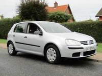 2007 Volkswagen Golf 1.4 S 80 5DR PETROL HATCHBACK ** 43,000 MILES * FULL HIS...