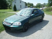 2000 Honda Civic EX Coupe (2 door)