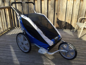 Chariot Cheetah double stroller