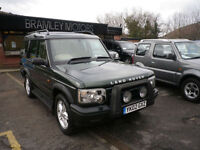 2002 Land Rover Discovery 2.5Td5 ( 7 st ) Auto ES * EXCELLENT TOP OF THE RANGE