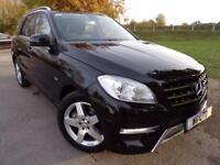 2012 Mercedes Benz M Class ML250 CDi BlueTEC Sport 5dr Auto COMAND! Leather! ...