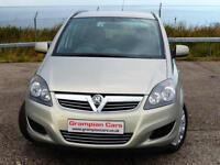 Vauxhall/Opel Zafira 1.6i 16v VVT ( 115ps ) ( a/c ) 2010MY Life