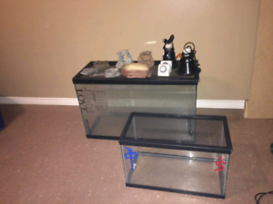 Reptile Tanks and accessories.