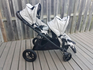 Baby Jogger City Select double stroller (black)