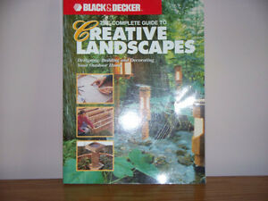 B&D COMPLETE GUIDE TO CREATIVE LANDSCAPES (316 pg)