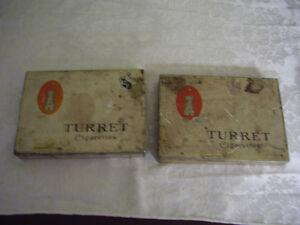 2 Turret Cig Metal Holders