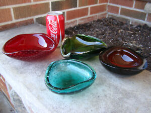 Beautiful Lot of Four Murano glass pieces