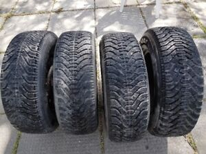 Goodyear winter Nordic Tires - 215/70/15