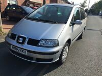 SEAT ALHAMBRA 7 SEATS GREAT RUNNER