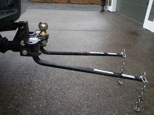 Weight distribution equalizer hitch