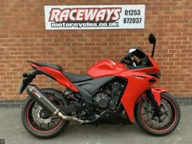 HONDA CBR500R 2015 65 REG 13,934 MILES RED USED MOTORCYCLES 471CC