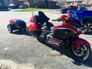 2015 Honda Goldwing AIRBAG model with 2011 Slingshot Trailer