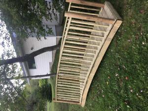 New bridge treated wood