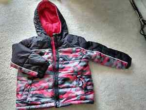 New George Insulated Hooded Jacket (4T)