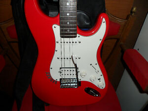 ARIA STG 006 SERIES RED ELECTRIC GUITAR $200.