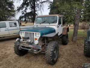 1987 Jeep yj  4.2 on propane t176 4spd and np 208