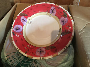 12 UNIQUE DEEP PLATES