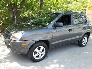2008 Hyundai Tucson 5 speed Manual SUV, Crossover, New MVI